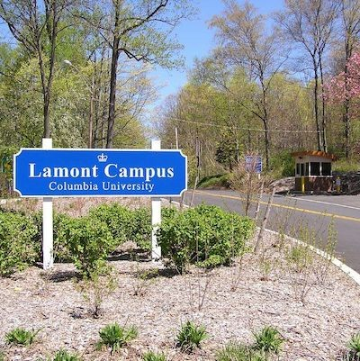 Lamont Campus sign at entrance