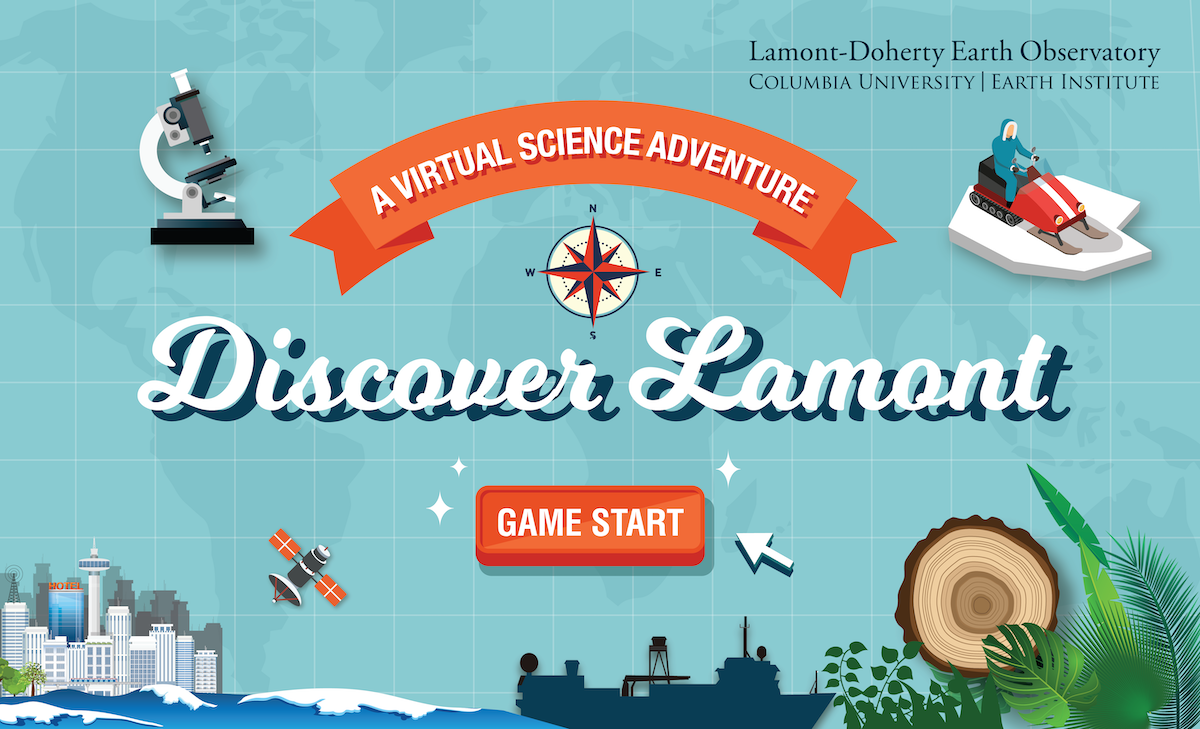 Discover Lamont: A virtual science adventure game start screenshot