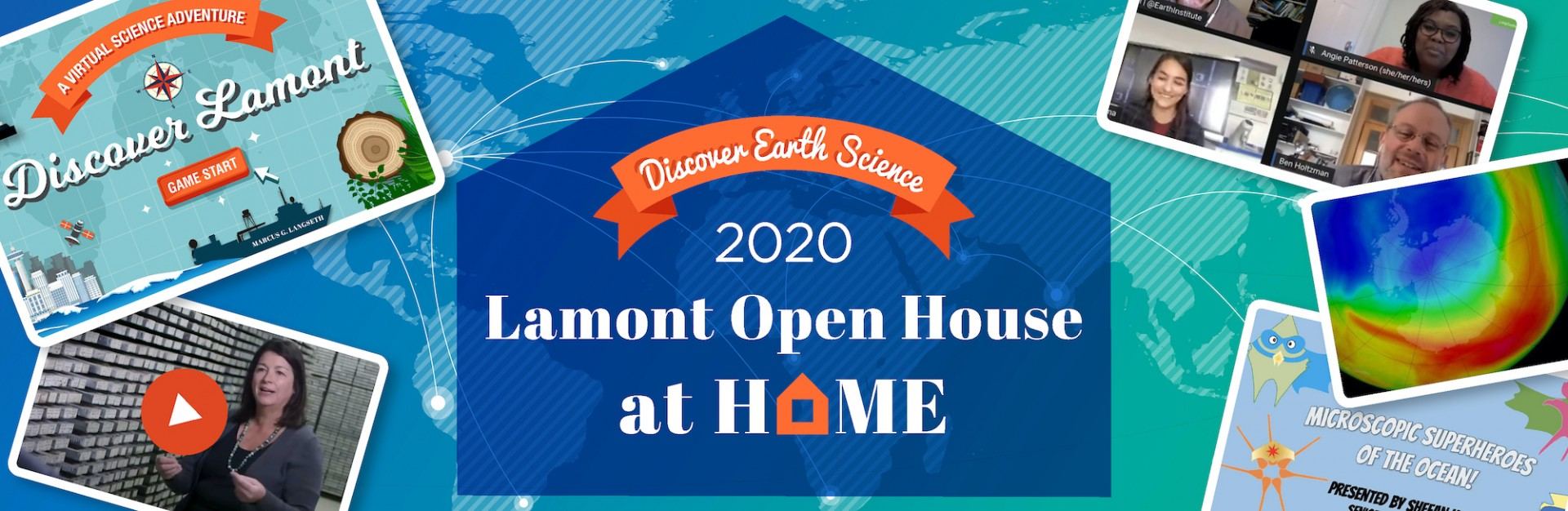Lamont Open House at Home banner